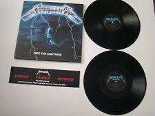 Metallica – Ride The Lightning - 2 LP / vinyl