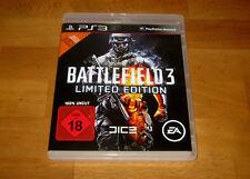 PS3 - BATTLEFIELD 3 - LIMITED EDITION - 100% UNCUT - DEUTSCH - KOMPLETT