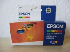 Original Epson Druckerpatrone Farbe C,M,Y / Tintenstrahldrucker / Drucker / T041