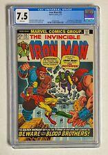 IRON MAN #55 Marvel Comics 1973 CGC 7.5 THANOS 1st Appearance Drax the Destroyer