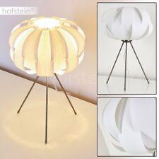 Lampe de table Retro Lampe de lecture blanche Lampe de bureau Lampe de chevet
