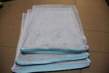 """(3) White 16""""X13"""" Filter Media Bags Bio Balls Carbon for Aquarium Fish/ Pond"""