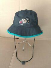 VINTAGE NBA Memphis Grizzlies Bucket Hat HARDWOOD CLASSIC by New Era  ( L )