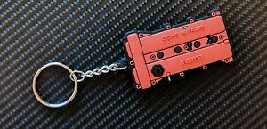 Mazda Mx5 Engine Cover Key Anello - Red Eunos