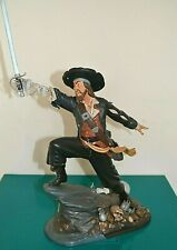 WDCC Pirates of the Caribbean Captain Barbossa BLACK-HEARTED BRIGAND Figurine