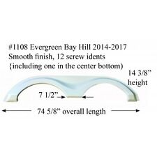 Evergreen RV Fender Skirt Fiberglass #1108 Colonial  **SEE DESCRIPTION**