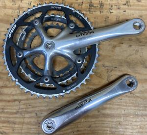 Nice Shimano Ultegra Triple Crankset With FSA 50-39-30 Chainrings FC-6503 175mm