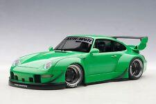 1/18 Autoart - Porsche 993 Rwb (verde / gungrey CERCHI)