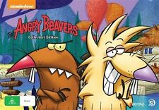 ANGRY BEAVERS CoMPLeTe SeRieS DVD SeT CaRTooN ViNTaGe 90's NoRBeRT NiCKeLoDeoN