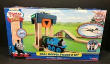 Thomas And Friends Wooden Railway Coal Hopper Figure 8 Complete Train Set