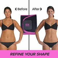 ▶IOX Sweat Burn FAT Easy Weight Loss Workout Slimming Belt ▶