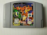 Banjo Kazooie Nintendo 64 N64 Tested Good Working Condition!