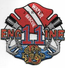 "St. Louis  Engine - 11  ""Water Rescue"", MO  (4.25"" x 4"" size) fire patch"