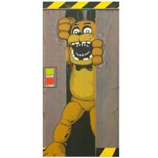 #review Forum Novelties Five Nights at Freddy's Door Cover