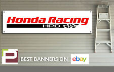 Honda Racing HPD Garage Banner, Track, Pit Lane, Office, Motorsport, Man Cave