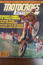 MOTOCROSS ACTION AUGUST 1978 MAICO DG CR125M-RM80-YZ80-GP MX VINTAGE AHRMA VMX