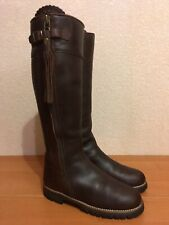 Really Wild La Mancha Waterproof Spanish Vibram Brown Leather Size 40 Boots