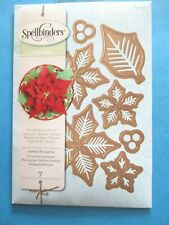 Spellbinder LAYERED POINSETTIA DIES Christmas Flower