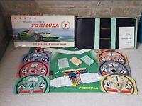 Waddington's Formula 1 The Great Car Racing Game Vintage Retro 1962