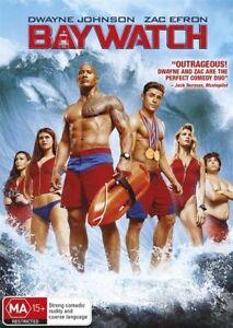 Baywatch (2017) DVD-Dwayne Johnson-Zac Efron-Pamela Anderson-David Hasselhoff