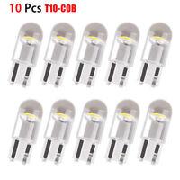 10Pcs T10 LED Car Width Lights Bulb W5W 3030 SMD Interior Reading Lamp Kit White