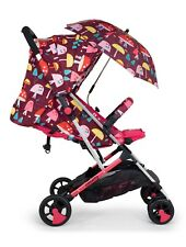 New Cosatto woosh 2 stroller in Mushroom Magic with Parasol & pvc birth to 25 kg