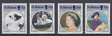 St. Helena 418 - 421 postfrisch 85. Geburtstag Königinmutter Elisabeth