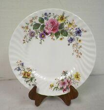 "ROYAL DOULTON ARCADIA FINE BONE CHINA DINNER PLATE FLOWER DESIGN 10 3/4"" EUC"