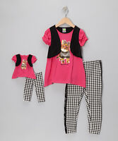 """NEW DOLLIE ME GIRL DOLL OUTFIT TOP LEGGINS SET 5 7 FITS AMERICAN GIRL 18"""" DOLLS"""