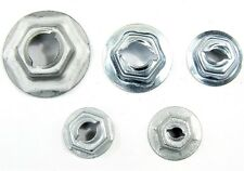 "Ford Truck PAL Nuts- Emblem, Trim etc- Fits 3/16"" to 5/16"" Studs- 125 nuts- #046"