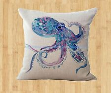 US Seller- octopus cushion cover home decoration cover throw pillows