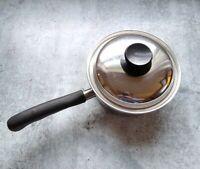 Vita Craft Cookware No. 3201 3/4 qt Sauce Pan Pot w/ Lid 18-8 3 Ply Steel USA