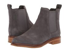 Women's Shoes Clarks Clarkdale Arlo Suede Leather Ankle Boot 36721 GREY *New*