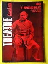 L'Avant-Scène Théâtre 363 1966 Saül Levitt Alexandre Rivemale Andersonville