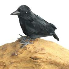 Halloween Crow Props Halloween Decoration Farm Garden Bird Repellent Ornaments