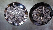 Harley Davidson Agitator Chrome/Contrast Cut Derby Cover
