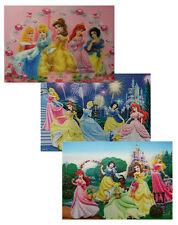 Disney Princesses - 3 Different 10x14 3D Lenticular Poster Prints -Frame or Hang