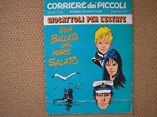 HUGO PRATT CORTO MALTESE DESSIN INEDIT LA BALLADE... COUVERTURE BD ITALIE 1971
