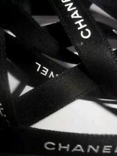 BRAND NEW CHANEL RIBBON CLASSIC BLACK 1.5CM (W) X 2 METRE