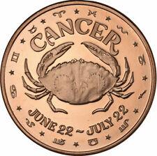 1 oz Copper Round - Cancer