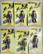 6 X ULTRA RARE VINTAGE 80'S AIRGAM BOYS MILITARY MAN BY PYROPLAST GREECE NEW MOC