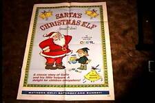 SANTAS CHRISTMAS ELF ORIG MOVIE POSTER 1971 BARRY MAHON ANIMATION