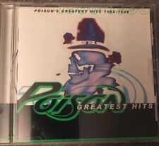 POISON-Greatest Hits CD 1996 FAST FREE POST! Disc Mint