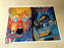 PITT tpb #1 cover art COVER PROOF, 1999, DALE KEOWN, FULL BLEED, VIBRANT!!