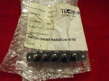31321001: Technika Rangehood 5 Push Button Light-Fan Switch Genuine