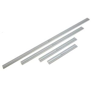 GraphicPro 100cm Aluminium Cutting Ruler Anti-Slip Underside Light Safety Rule