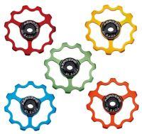 (Pair) Aerozine Jockey Pulley Wheels 11 TEETH Super Light 5.8g each CNC Machined