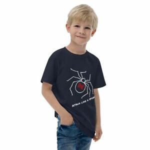 Kids T-Shirt - 'Attack like a spider'