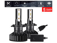 Kit Led H7 6500K Full Canbus Xenon 12000Lm Lampade Lampadine Fari Auto Headlight