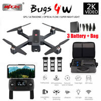 MJX Bugs B4W Quadcopter WIFI APP FPV Brushless 2K Camera GPS Helicopter Gift US